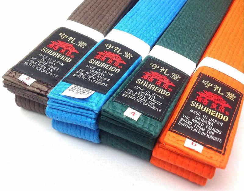 Il colore delle cinture del Karate