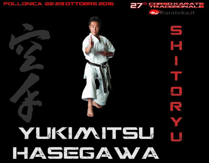 Intervista a Yukimitsu Hasegawa - 7 volte Campione del mondo di Karate