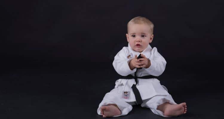 Karate baby