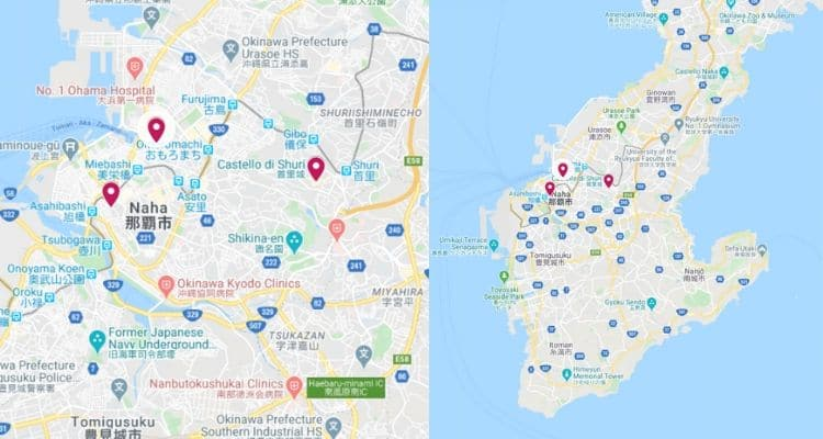Okinawa: Shuri, Tomari, Naha