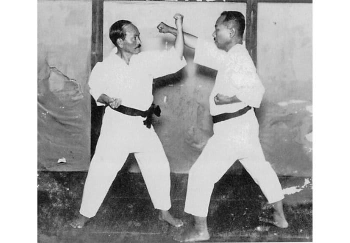 Funakoshi e Gima