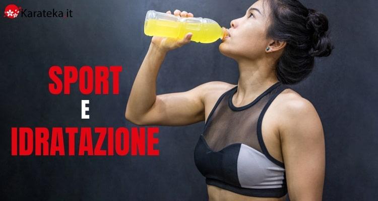 sport-e-idratazione