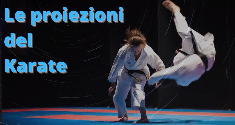 Proiezioni del Karate