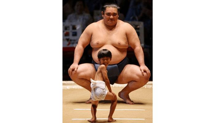 Sumo vs baby