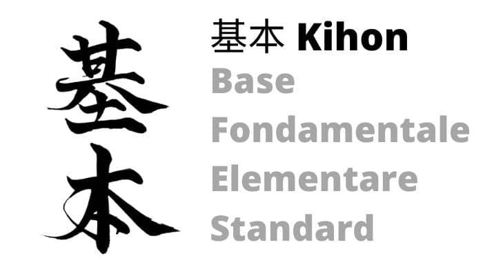 Kihon-significato