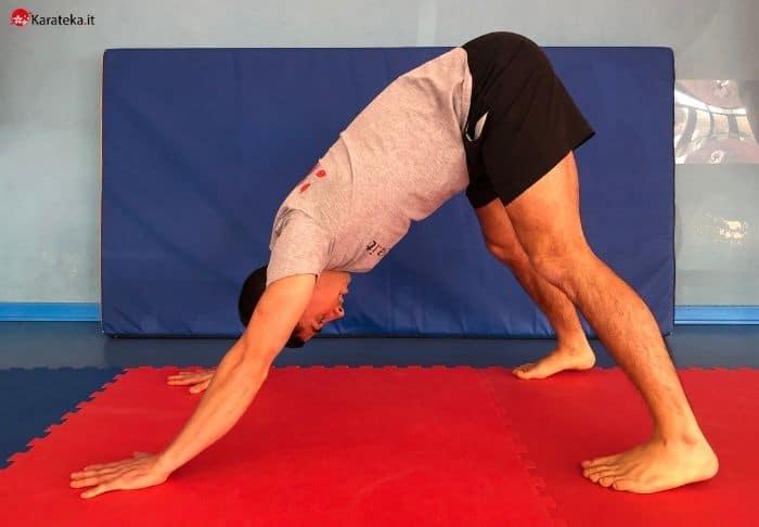 stretching-polpacci-downward-dog